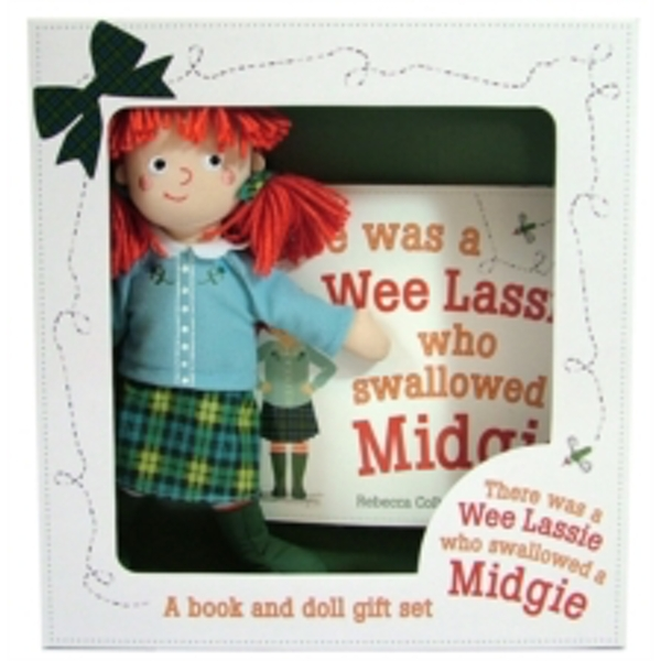 There Was a Wee Lassie Who Swallowed a Midgie: Book and Doll Gift Set by Rebecca Colby (Mixed media product, 2016)