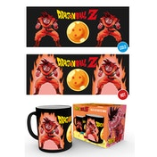 Dragon Ball Z Super Saiyan Heat Change Mug