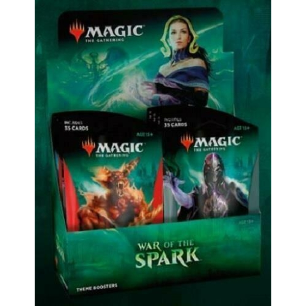 Magic The Gathering: War of the Spark Theme Booster Box (10 Packs)