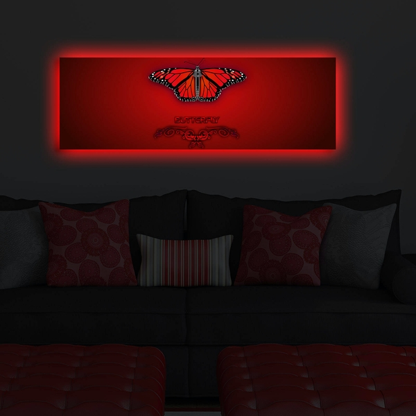 3090DACT-46 Multicolor Decorative Led Lighted Canvas Painting