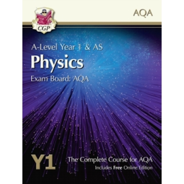 New A-Level Physics for AQA: Year 1 & AS Student Book with Online Edition by CGP Books (Paperback, 2015)
