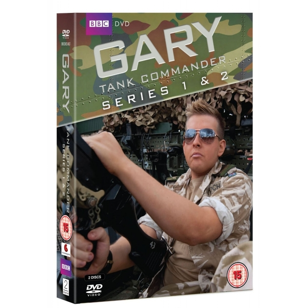 Gary Tank Commander Series 1 and 2 Box Set DVD