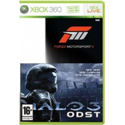 Forza Motorsport 3 & Halo 3 ODST Pack Game Xbox 360