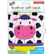 Teether Soft Farm Book First Years Toy