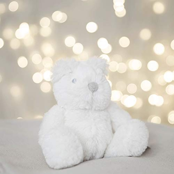 Bambino White Plush Bear Small 13cm
