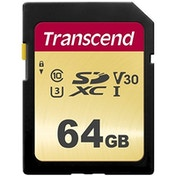 Transcend 64GB SDHC Class 10 UHS-I U3 Flash Card