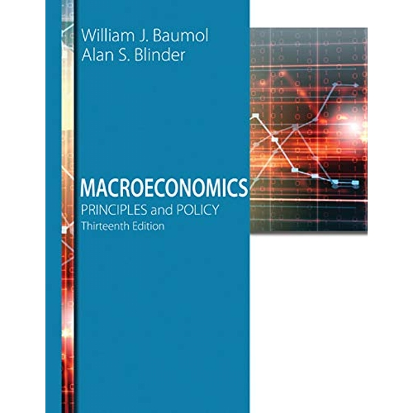 Macroeconomics: Principles and Policy by Alan S. Blinder, William J. Baumol (Paperback, 2015)