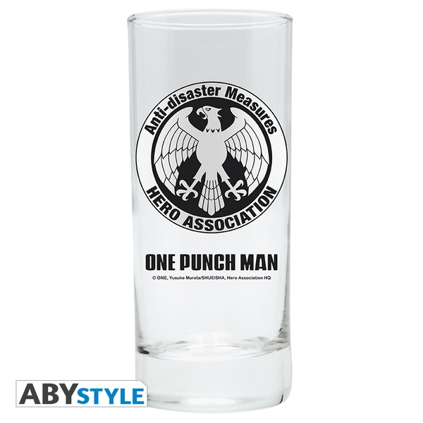 One Punch Man - Hero Association Glass