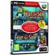 Fear For Sale 2 and 3 Hidden Object Game for PC (DVD-ROM)