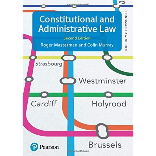 Constitutional and Administrative Law  Paperback / softback 2018