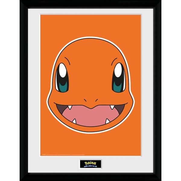 Pokemon Charmander Face Collector Print
