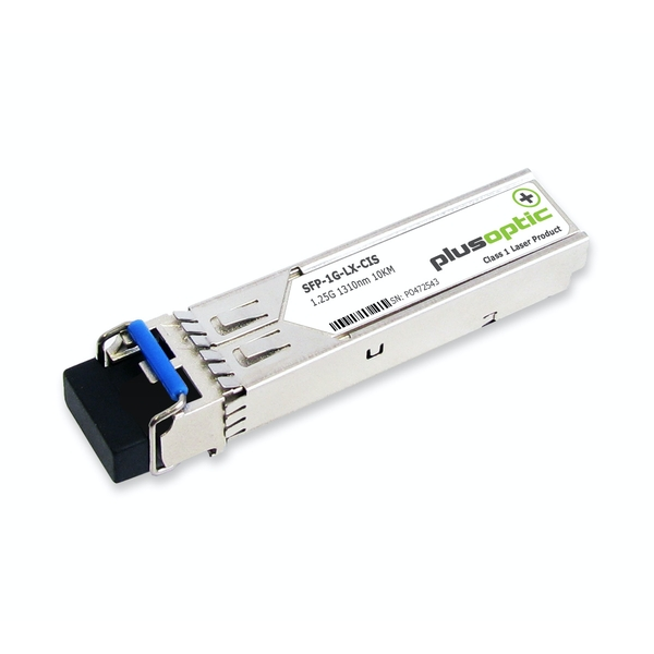 Cisco compatible (GLC-LH-SM GLC-LH-SMD ONS-SC-GE-LX SFP-GE-L) 1.25G SFP 1310nm 10KM Transceiver LC Connector for SMF with