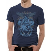 Harry Potter - Ravenclaw Men's Large T-Shirt - Blue/Grey