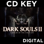 Dark Souls II Scholar of the First Sin PC CD Key Download for Steam