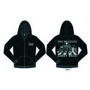 The Beatles Abbey Road Mens Hoodie  Black: XXL