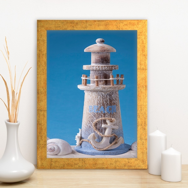 AC1935127735 Multicolor Decorative Framed MDF Painting
