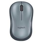 Logitech M185 USB Wireless Optical Mouse - Grey