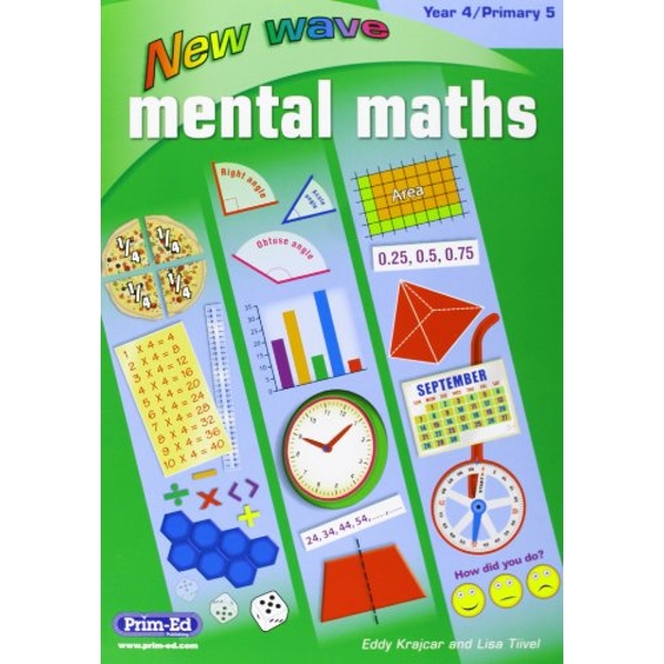 NEW WAVE MENTAL MATHS  YEAR 4  PRIMARY 5   2016
