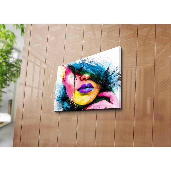 3040ABSWC-05 Multicolor Decorative Canvas Painting