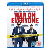 War On Everyone Blu-ray