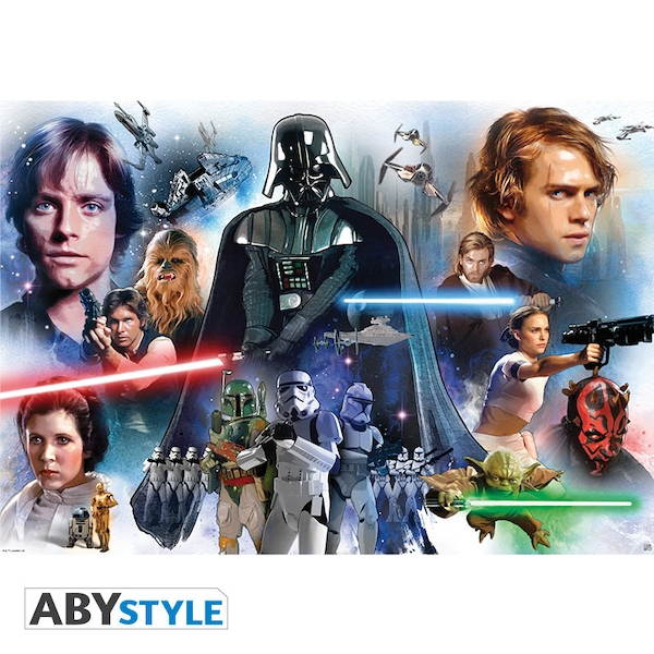 Star Wars - Group Maxi Poster
