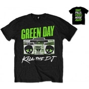 Green Day Kill The DJ Mens Black T Shirt: XXL