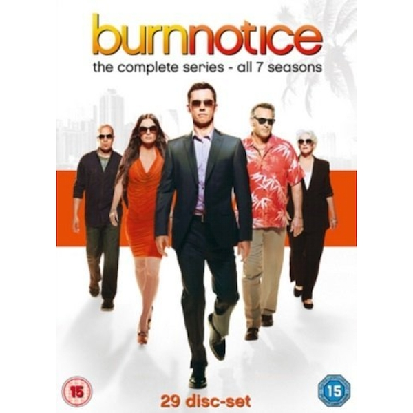 Burn Notice - Season 1 to 7 DVD