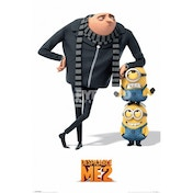 Despicable Me 2 Gru And Minions Maxi Poster