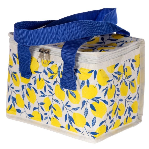 Lemons Design Lunch Box Cool Bag