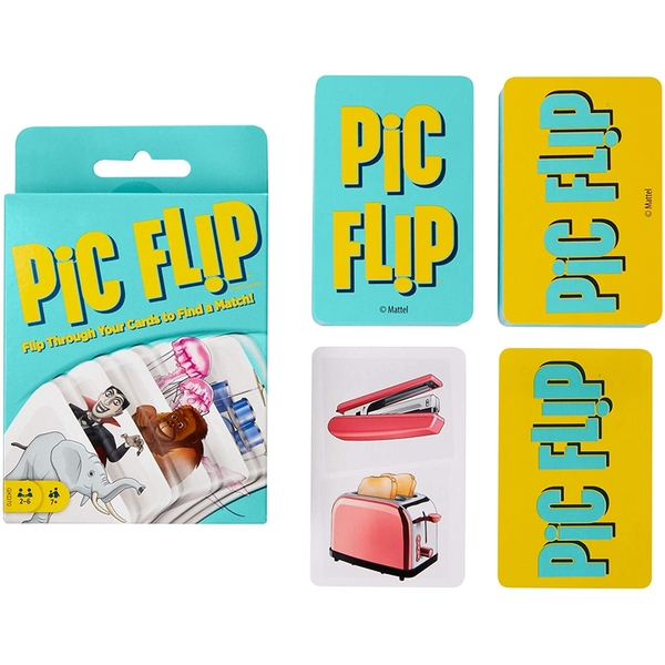 Picture Flip Card Game