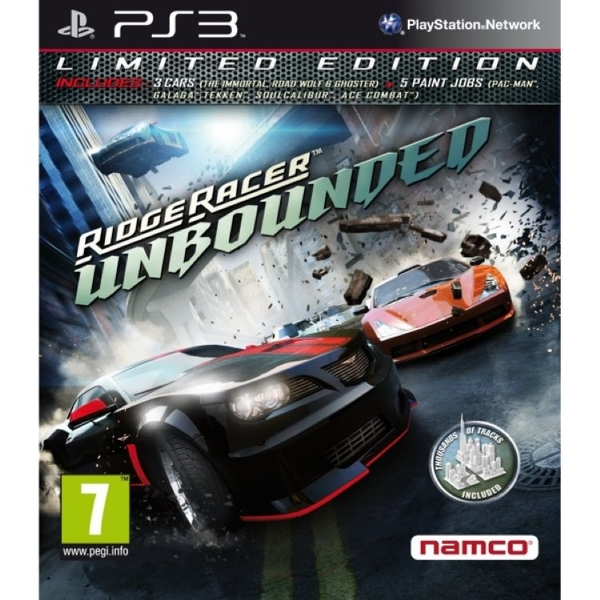Ridge Racer Unbounded Limited Edition Game PS3