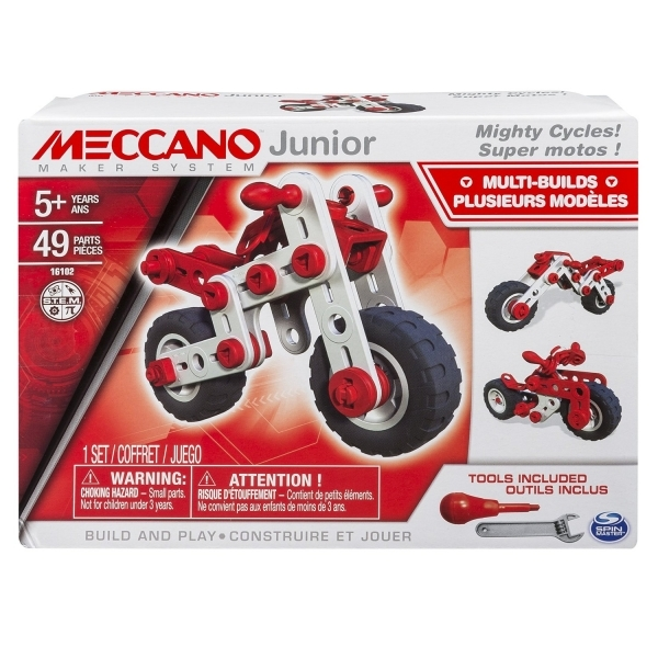 Meccano Junior Mighty Cycles - Image 1