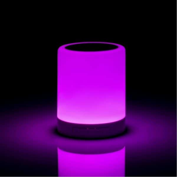 Wireless Speaker With Colour Changing Touch Lamp UK Plug - Image 3