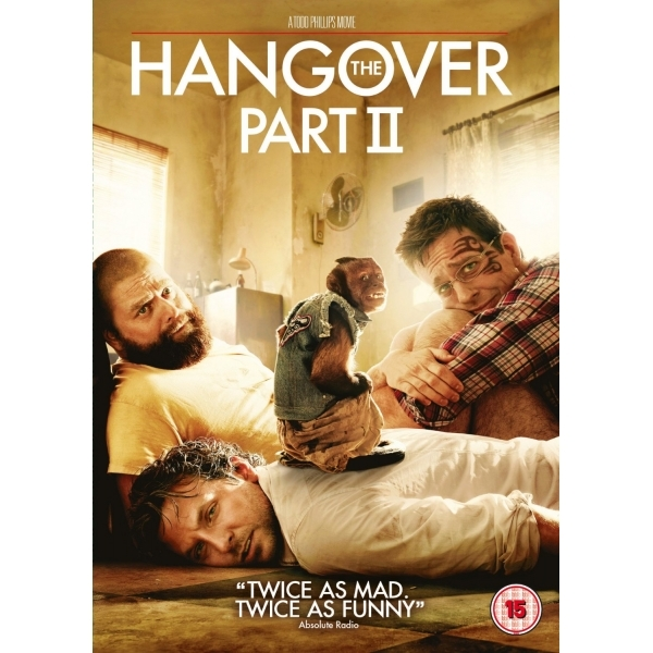 Hangover Part II DVD