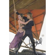 Star Wars In Person Signed 12X8 - Mark Hammill As Luke Skywalker