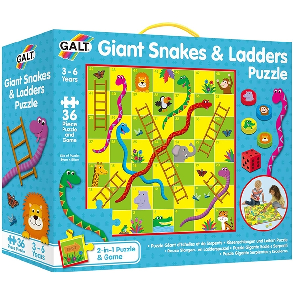Giant Snakes and Ladders Childrens Puzzle