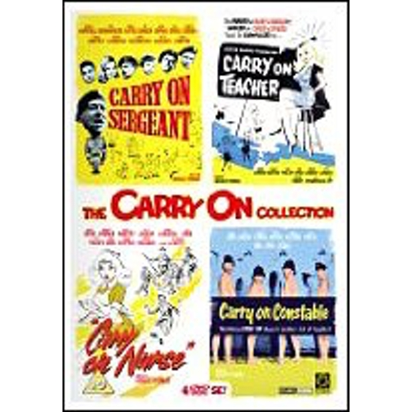 Carry On Collection Vol.1 DVD 4-Disc Set Box Set