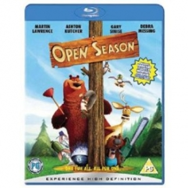 Open Season Blu-Ray - Image 1