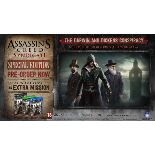 Assassin's Creed Syndicate Special Edition PC Game - Image 2