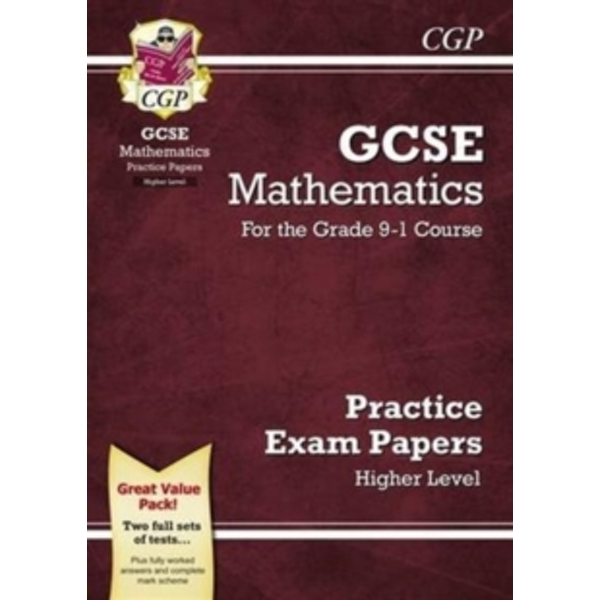New GCSE Maths Practice Papers: Higher - For the Grade 9-1 Course by CGP Books (Paperback, 2016)