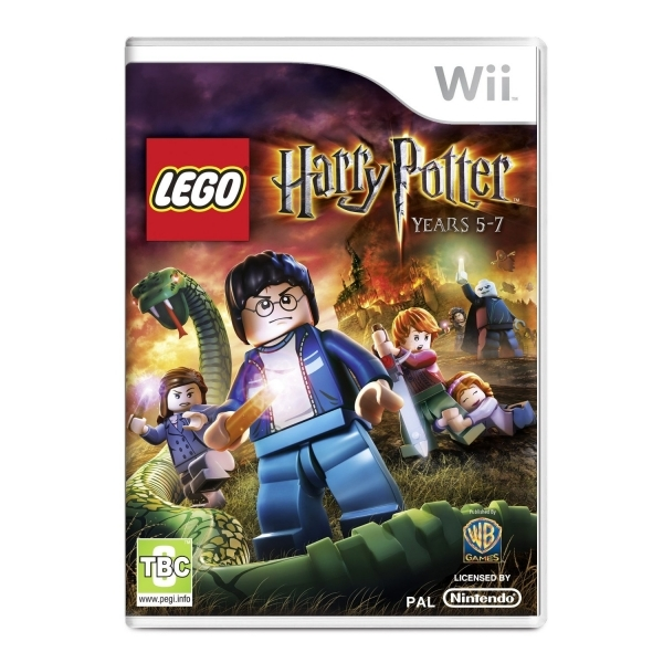 Lego Harry Potter Years 5-7 Game Wii