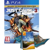 Just Cause 3 Day One Edition with Guide to Medici PS4 Game
