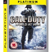 Call Of Duty 5 World At War Game (Platinum) PS3