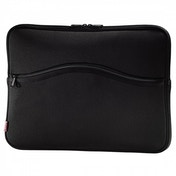 Hama Comfort Notebook Sleeve display sizes up to 34 cm/13.3in (black)