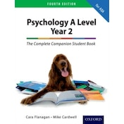 The Complete Companion for AQA Psychology A Level: Year 2 Student Book by Mike Cardwell, Cara Flanagan (Paperback, 2016)