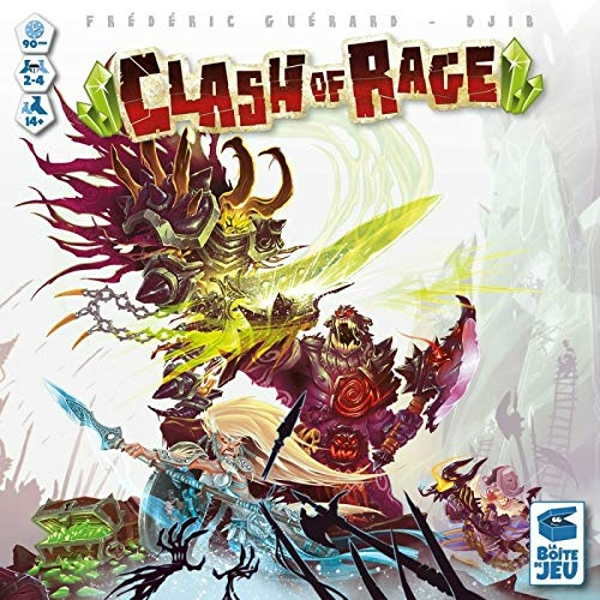 Clash of Rage Board Game