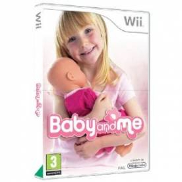 Baby And Me Game Includes Remote Pouch Wii