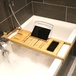 Extendable Bamboo Bath Caddy | M&W - Image 3