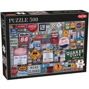 Tactic Games Logos 500 Piece Jigsaw Puzzle