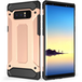 Caseflex Samsung Galaxy Note 8 Armoured Shockproof Carbon Case - Rose Gold - Image 2